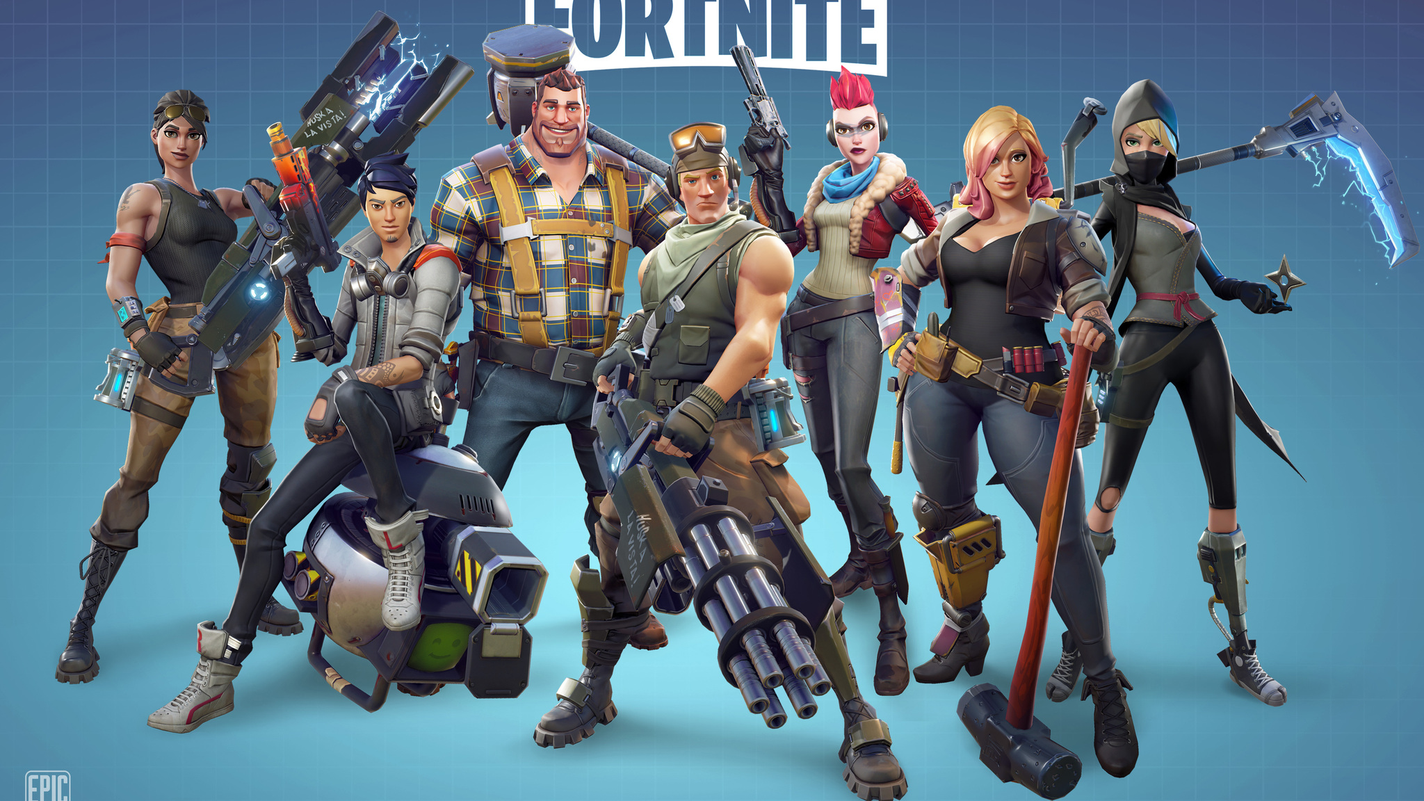 Fortnite, hottest game out!